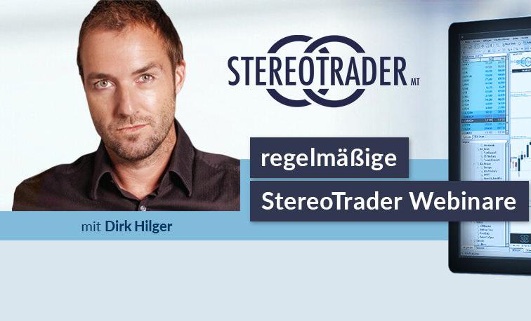 Live-Webinar (Recording) Einführung in Stereo Trader mit Dirk Hilger